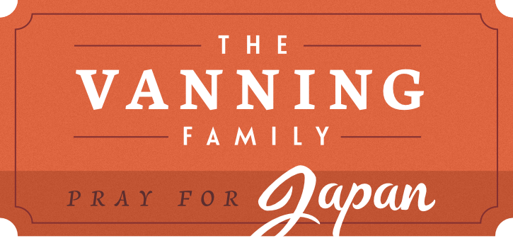 The Vanning Family in Japan
